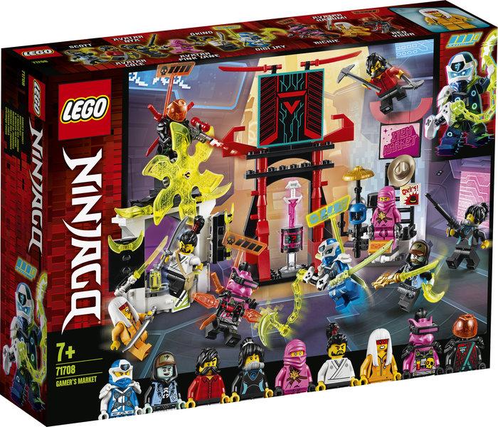Lego ninjago mercado de jugadores