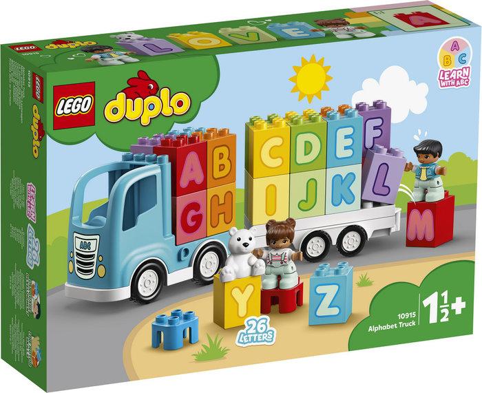 Lego duplo my first camion del alfabeto