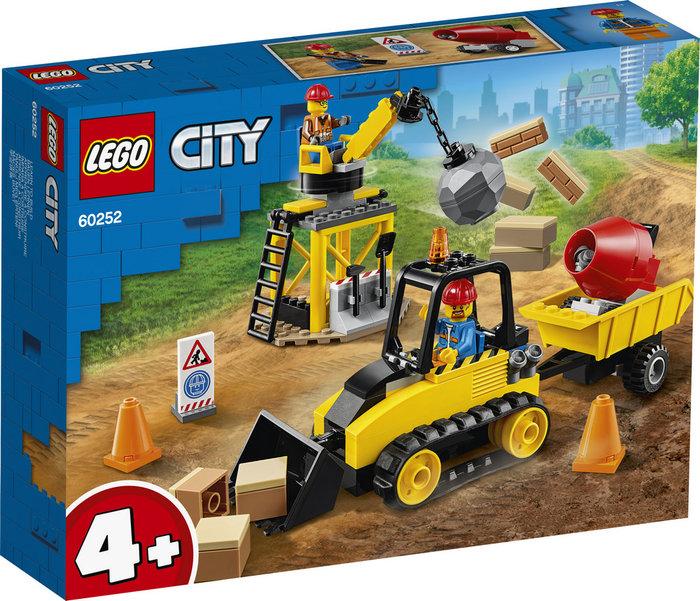 Lego city great vehicles buldocer de construccion