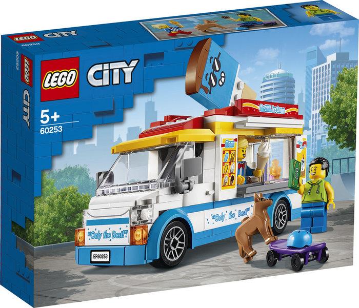 Lego city great vehicles camion de los helados