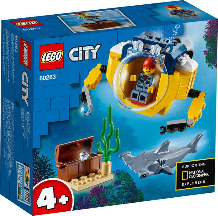 Lego city oceans oceano minisubmarino