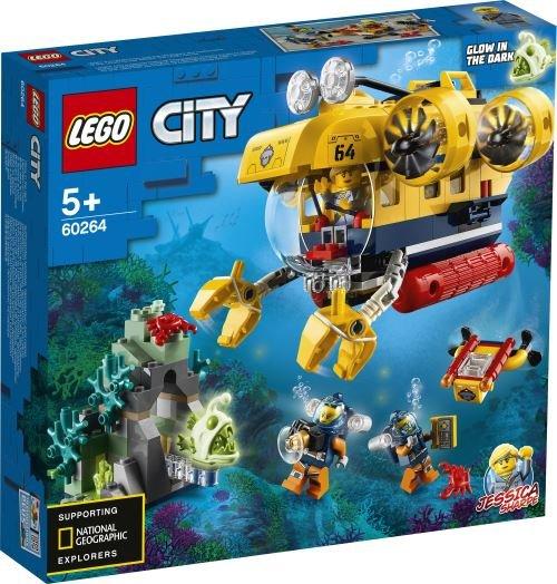 Lego city oceans oceano submarino de exploracion
