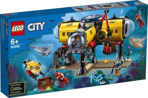 Lego city oceans oceano base de exploracion