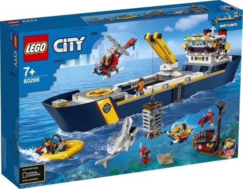 Lego city oceans oceano buque de exploracion
