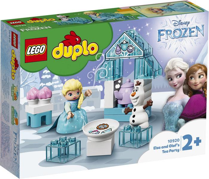 Lego duplo princess fiesta de te de elsa y olaf