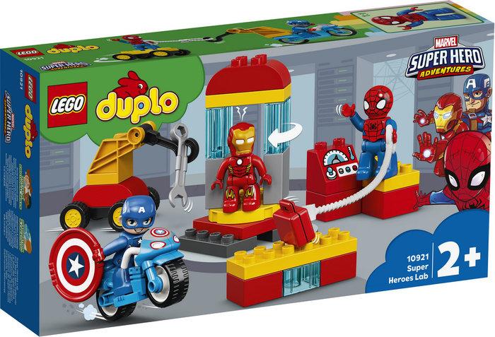 Lego duplo super heroes laboratorio de superheroes