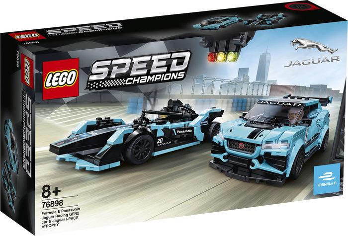 Lego speed champions formula e jaguar y jaguar i-pace