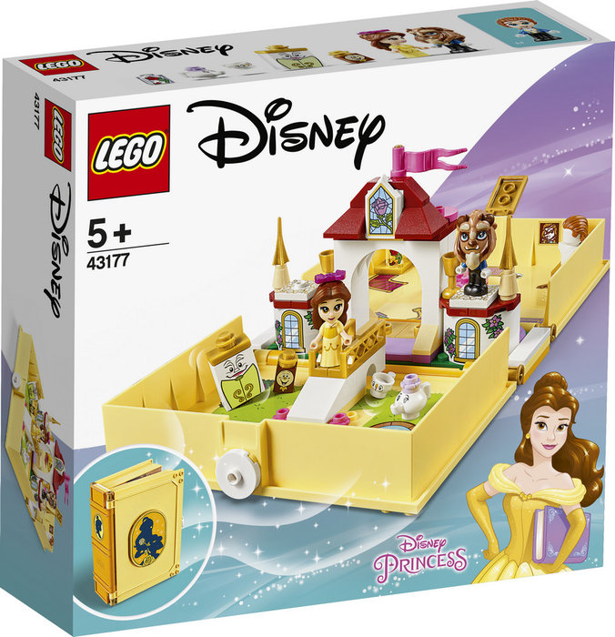 Lego disney princess cuentos e historias bella