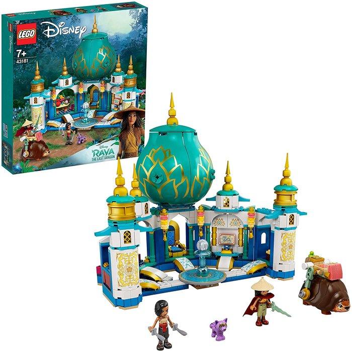 Lego disney princess raya y el palacio corazon