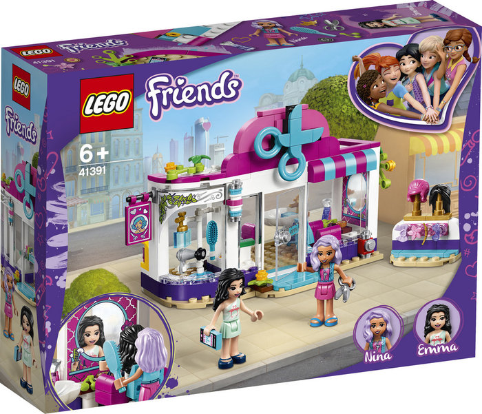 Lego friends peluqueria de heartlake city