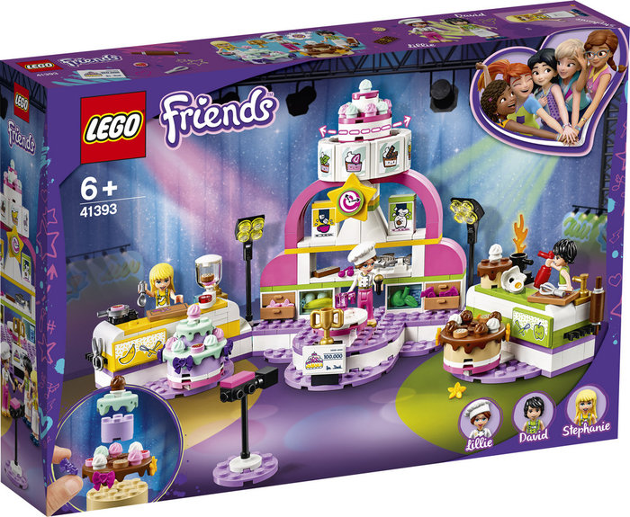 Lego friends concurso de reposteria