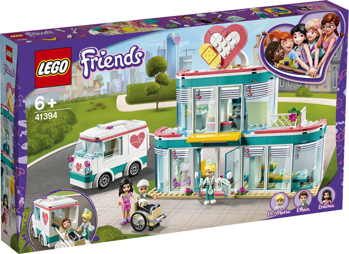 Lego friends hospital de heartlake city