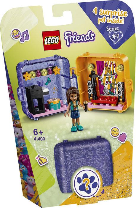 Lego friends cubo de juegos de andrea