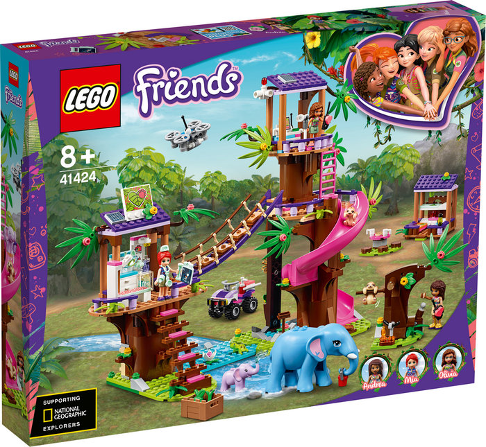 Lego friends base de rescate en la jungla