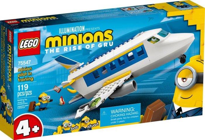 Lego minions piloto en practicas