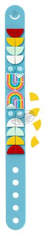 Lego dots pulsera arcoiris 41900