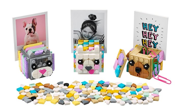Lego dots portafotos animales 41904