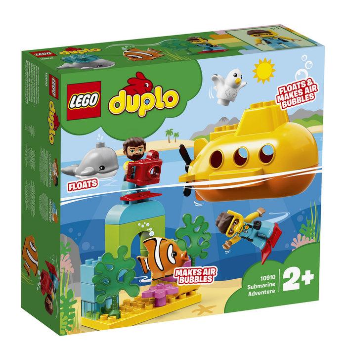 Lego duplo town aventura en submarino