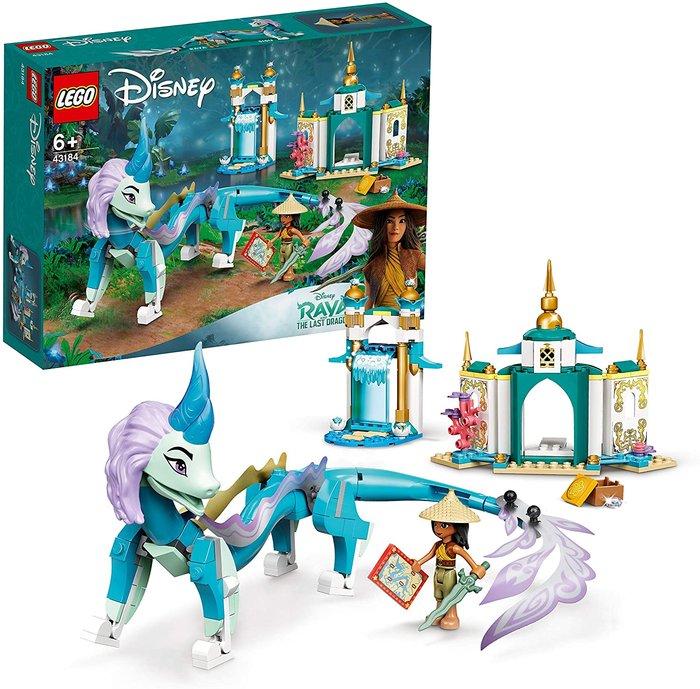 Lego disney princess raya y el dragon sisu