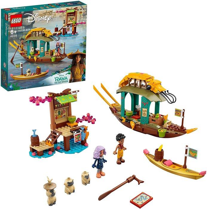 Lego disney princess barco de boun raya