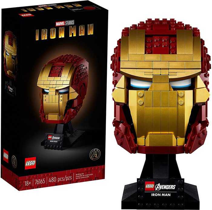 Lego super heroes marvel vengadores casco de iron man