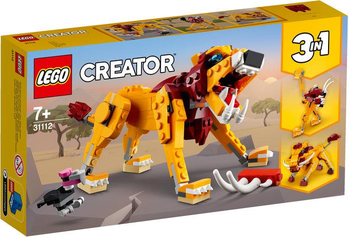 Lego leon salvaje