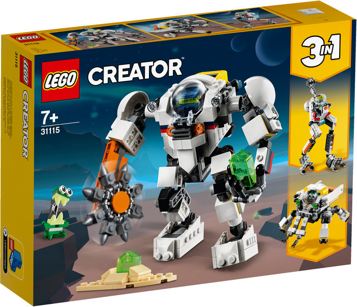 Lego meca minero espacial