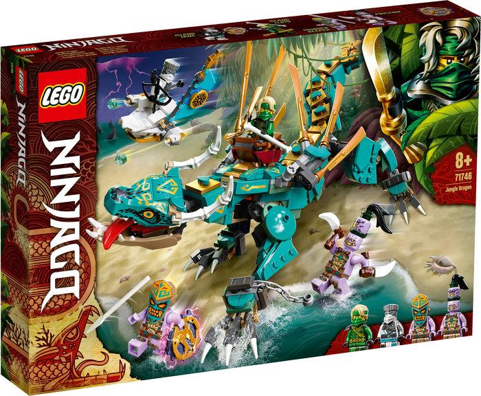 Lego dragon de la jungla