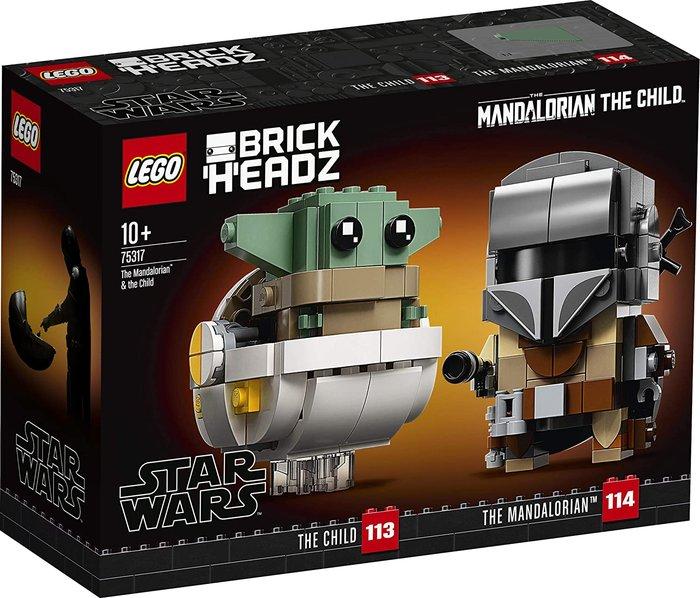 Lego star wars el mandaloriano y el niÑo