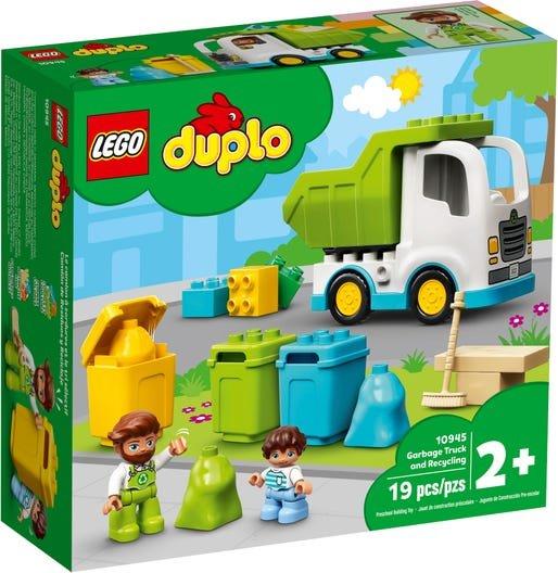 Lego duplo town camion de residuos y reciclaje