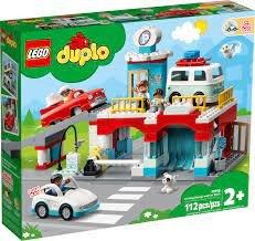 Lego 10948 parking garage and car wash v29
