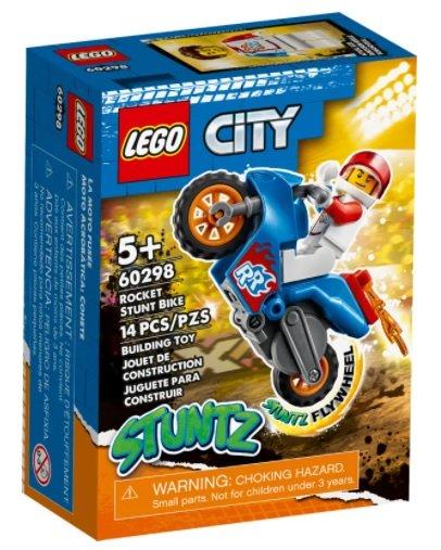 Lego city moto acrobatica: cohete
