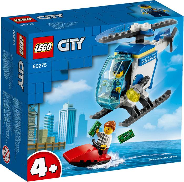 Lego helicoptero de policia