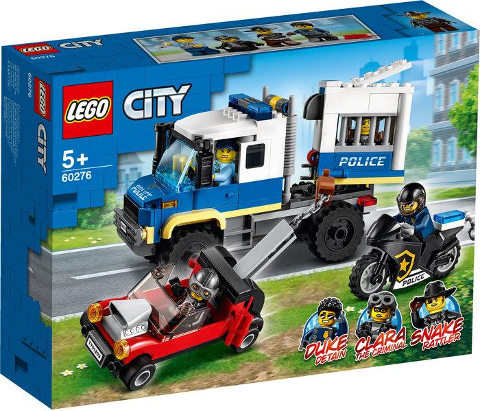 Lego transporte de prisioneros de policia