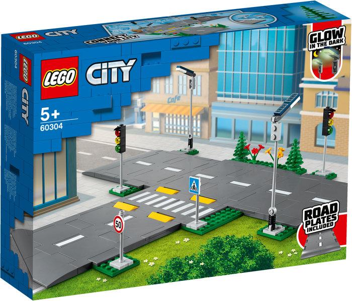 Lego placas de carretera