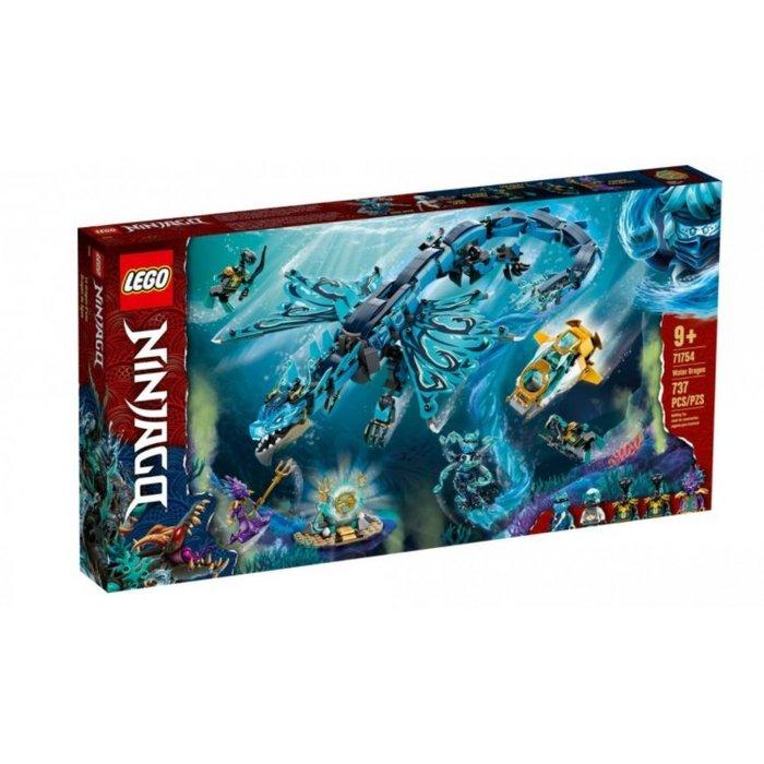 Lego dragon de agua