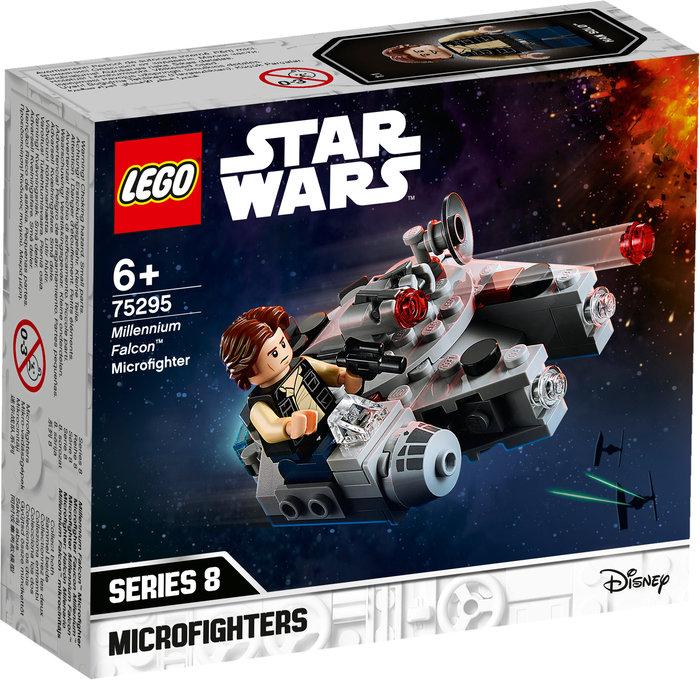 Lego microfighter: halcon milenario