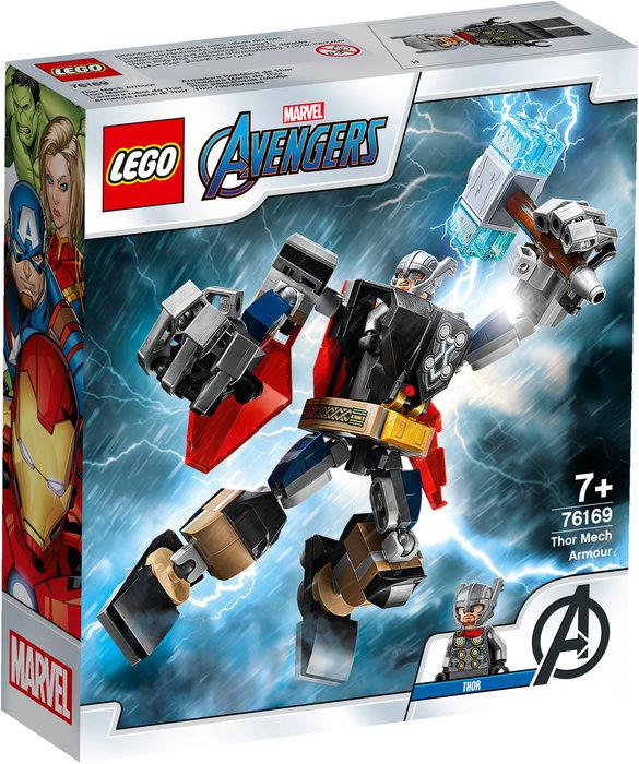 Lego armadura robotica de thor