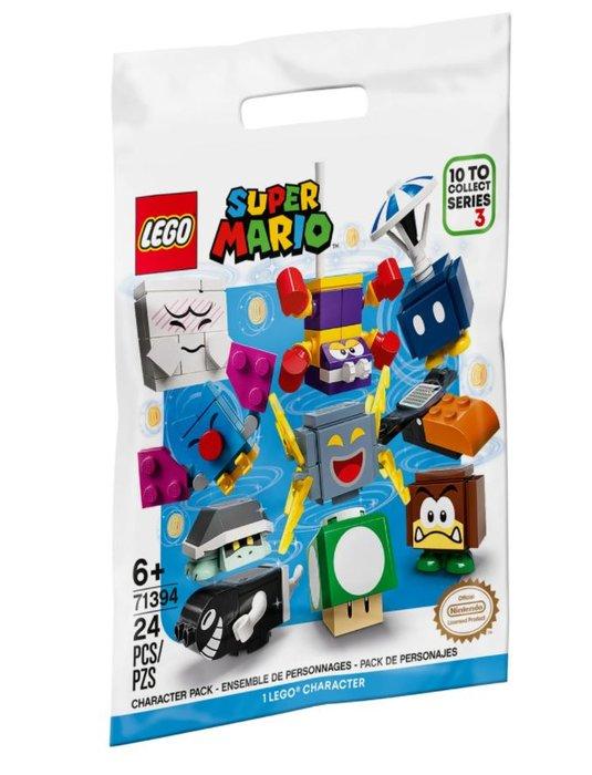 Lego super mario packs de personajes: edicion 3