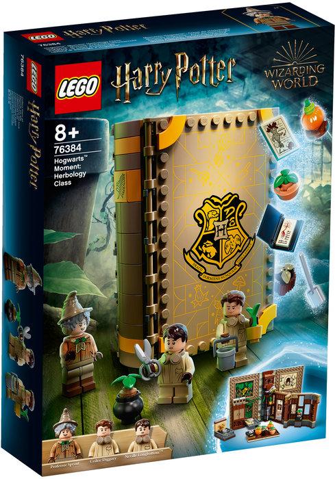 Lego harry potter momento hogwarts: clase de herbologia