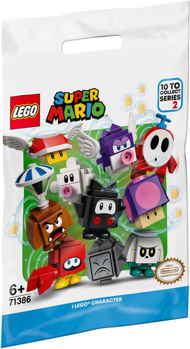 Lego packs de personajes super mario: edicion 2