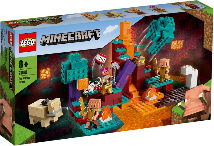 Lego el bosque deformado minecraft