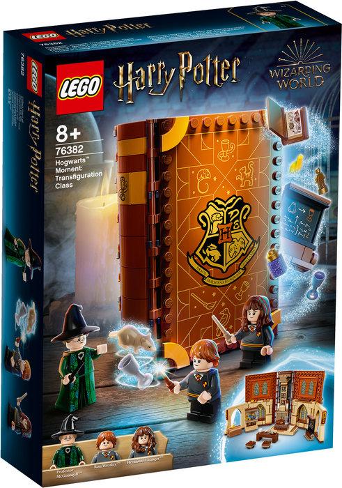 Lego momento hogwarts clase de transfiguracion