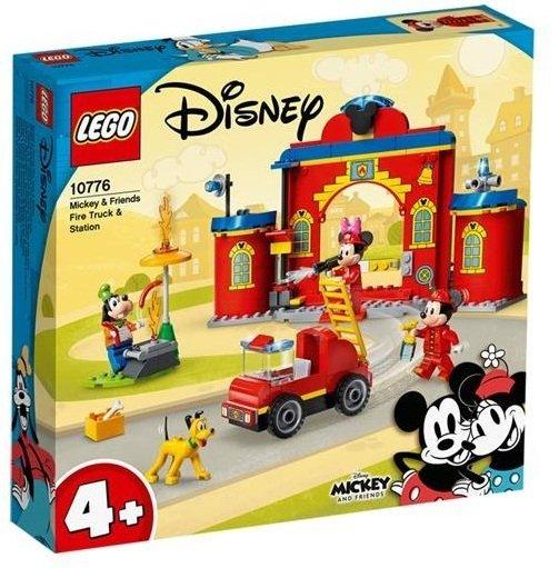Lego parque y camion de bomberos de mickey y sus amigos
