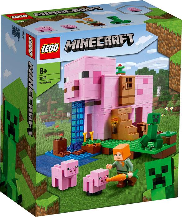 Lego la casa-cerdo minecraft