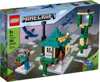 Lego minecraft la torre al cielo