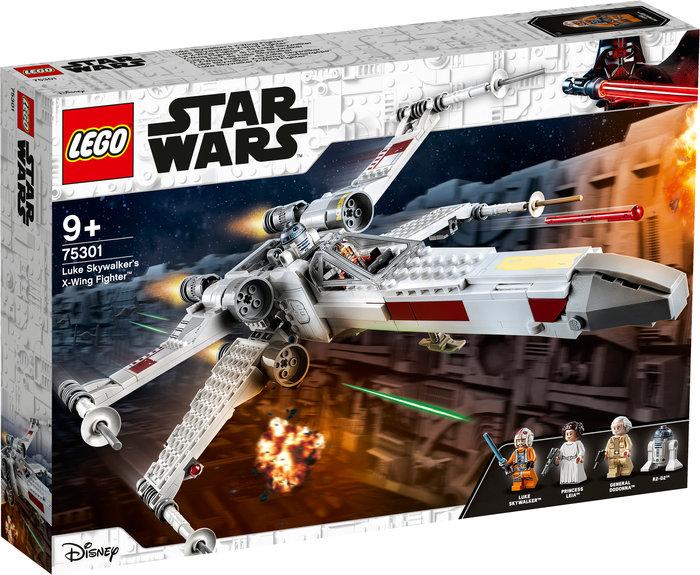 Lego caza ala-x de luke skywalker