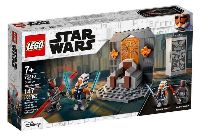 Lego star wars duelo en mandalore