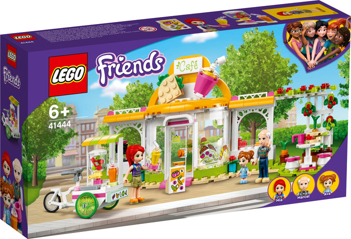 Lego cafeteria organica de heartlake city