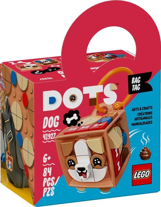 Lego adorno para mochila: perro